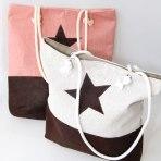 Tasche in rosa oder off-white