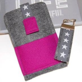 Handyhülle Pink Star