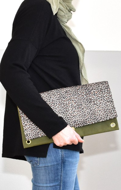 Stylische Clutch
