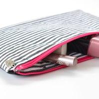 und ein pinker Zipper