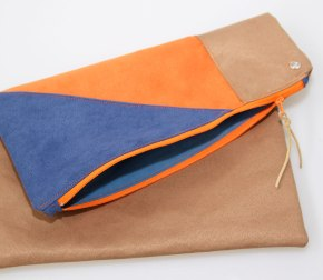 Clutch Orange-Blue