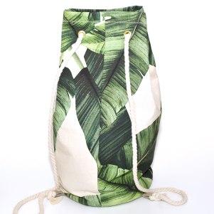 Als Rucksack oder Seesack zu tragen